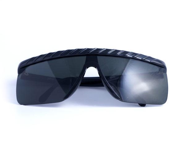 Occhiali vintage by genny 148s 9002 - modello a maschera nero