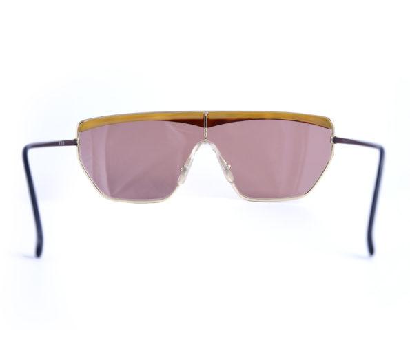 Helena Rubinstein vintage sunglasses mask model hr909 front
