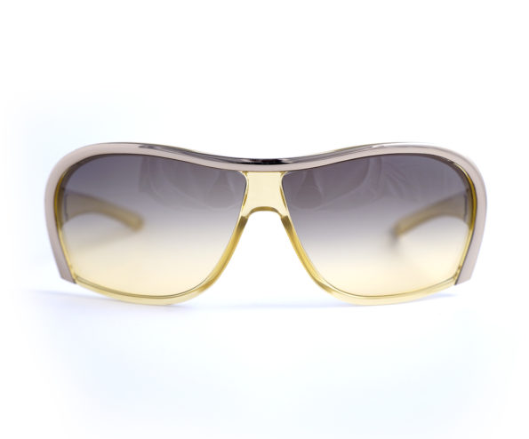 Stella McCartney eyewear mask gold - model stm 14s