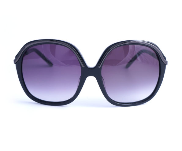occhiali vintage donna romeo gigli big round eye black RG 3170S front
