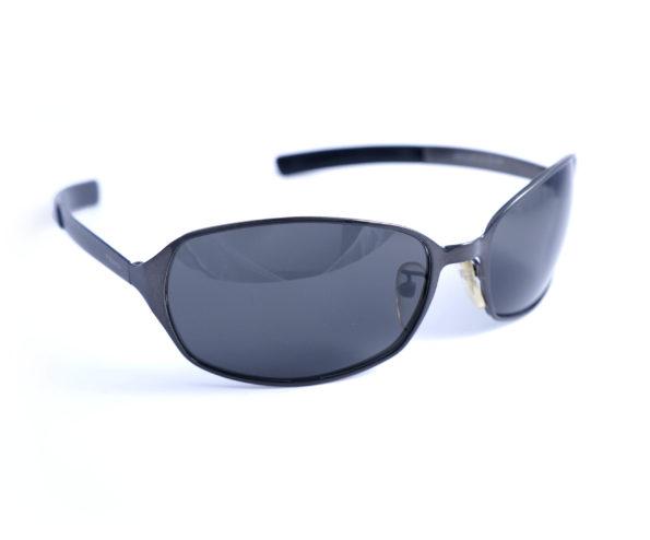 occhiali vintage uomo fendi SL7237 black frame front oval lenses