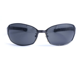 occhiali vintage uomo fendi black frame front oval lenses